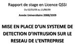 Rapport de Stage Licence QSSI Hervé Consultant IDS Assistant Web Marketing | Webmaster | Référenceur SEO en Essonne 91